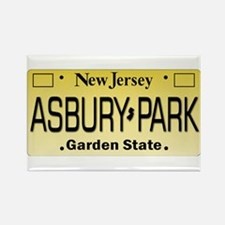Asbury Park NJ Tag Giftware Magnets