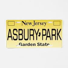 Asbury Park NJ Tag Giftware Aluminum License Plate