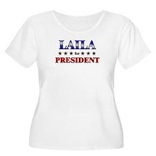 LAILA for president T-Shirt
