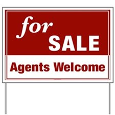 FOR SALE (Agents Welcome) Yard Sign