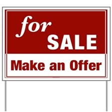 FOR SALE (Make an Offer) Yard Sign