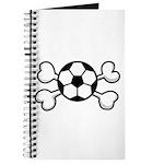 Soccer Ball Crossbones Design Journal