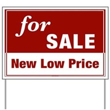 FOR SALE (New Low Price) Yard Sign