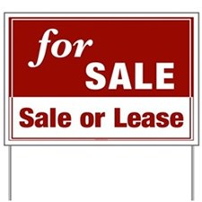 FOR SALE (Sale or Lease) Yard Sign