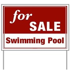 FOR SALE (Swimming Pool) Yard Sign