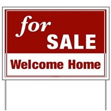 FOR SALE (Welcome Home) Yard Sign