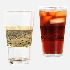 Unique I love michigan Drinking Glass