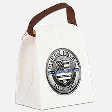 Funny Dallas Canvas Lunch Bag