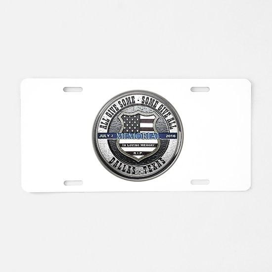 Cute Police memorial Aluminum License Plate