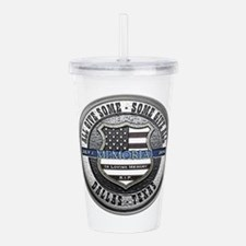 Law enforcement Acrylic Double-wall Tumbler