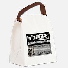 I'm The PRETERIST Canvas Lunch Bag
