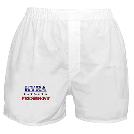 KYRA for president Boxer Shorts