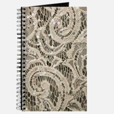 Girly sequins lace bohemian Journal