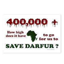 400,000+ (Darfur) 1 Postcards (Package of 8)