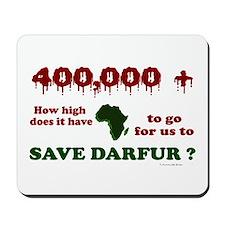 400,000+ (Darfur) 1 Mousepad