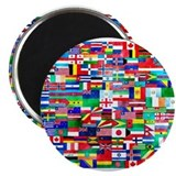 Flags world Magnets