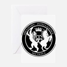 MI6 Logo Greeting Cards