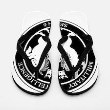 MI6 Logo Flip Flops