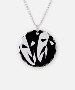 Stage Masks Necklace