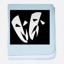 Stage Masks baby blanket