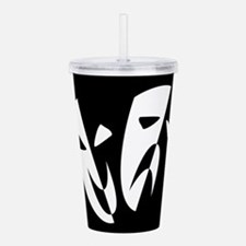 Stage Masks Acrylic Double-wall Tumbler