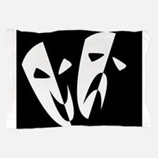 Stage Masks Pillow Case