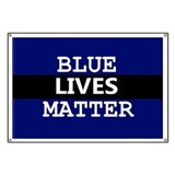 Blue lives matter Banners