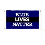 Blue lives matter Banners