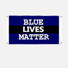 BLUE LIVES MATTER Banner