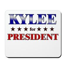 KYLEE for president Mousepad