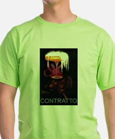 Contratto - Vintage Promotional Poster T-Shirt
