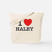 Cute Haley Tote Bag
