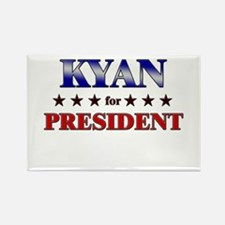 KYAN for president Rectangle Magnet