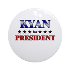 KYAN for president Ornament (Round)