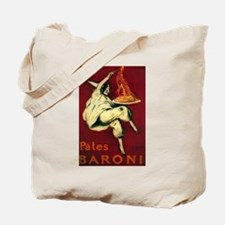Pates Baroni - Vintage Promotional Poster Tote Bag