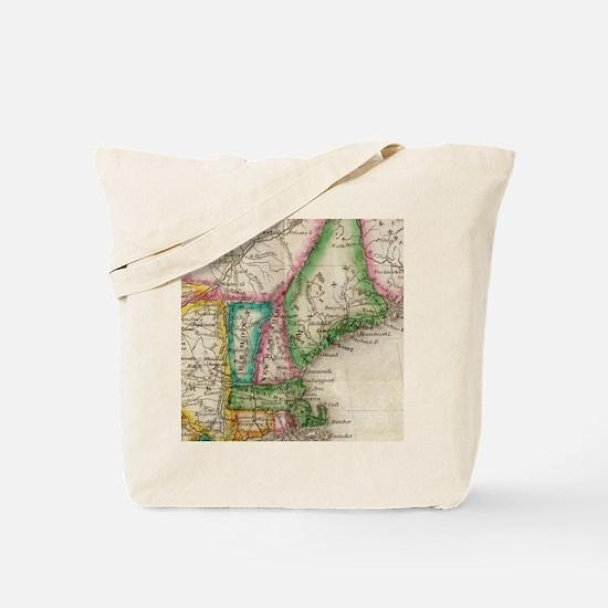 Cute Heart england Tote Bag