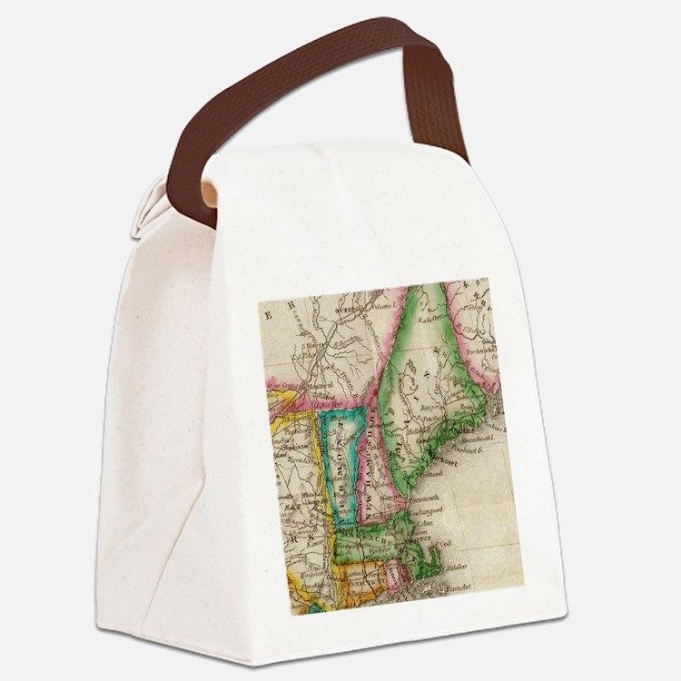 Cute England Canvas Lunch Bag