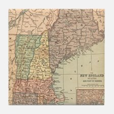 Funny New england Tile Coaster