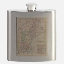Antique maps Flask
