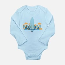 Del Mar California. Long Sleeve Infant Bodysuit