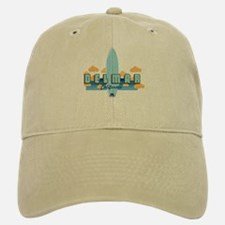 Del Mar California. Baseball Baseball Cap