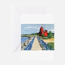 Big Red Welcome Greeting Cards