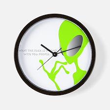 Cute Extraterrestrial Wall Clock