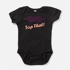 Cute Witch Baby Bodysuit