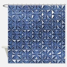Silver Shower CurtainShiny Silver Shower Curtains   Shiny Silver Fabric Shower Curtain  . Blue And Silver Shower Curtain. Home Design Ideas
