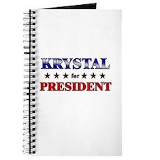 KRYSTAL for president Journal