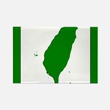 Cute Taiwan flag Rectangle Magnet
