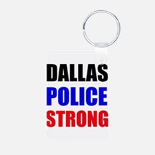 Dallas Police Strong Keychains