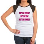 Don't Care! Women's Cap Sleeve T-Shirt