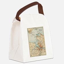 Hamptons Canvas Lunch Bag